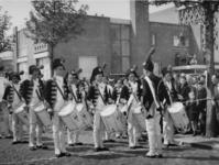 1977-3593 Herdenking van de bevrijding in 1945. Historiese optocht Recht zo die gaat .