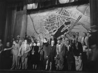 1977-3708 In het Arena theater vindt de première plaats van de revue: Hart van Rotterdam.