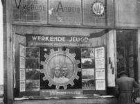 1977-3819 Etalage van het Nederlandsch Arbeidssfront (NAF). Georganiseerd door de werkgemeenschap Vreugde en Arbeid.
