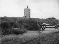 1977-3842 Duitse verdedigingswerken in de duinen bij Hoek van Holland.