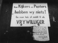 XXXIII-567-05-04 Pamflet: tegen ongewenste belangstelling voor de verwoeste binnnenstad als gevolg van het Duitse ...