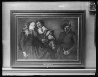2004-2003-07 Schilderij 'Vrolijk Gezelschap' van Jan Gerritsz. Pot in het Museum Boijmans van Beuningen.