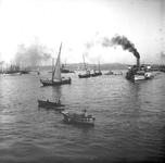 2005-317-328-10 Opname tijdens de vakantie van de familie Stahl-Van Hoboken. Foto uit een serie van 21 foto's.