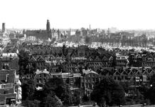 1980-5041 Een overzicht op de door het Duitse bombardement van 14 mei 1940 getroffen omgeving van de Provenierswijk, ...