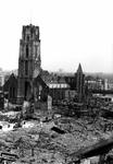 1980-5076 Gezicht op de door het Duitse bombardement van 14 mei 1940 getroffen omgeving tussen de Steigersgracht en de ...