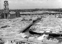 1980-5158 Gezicht op de door het Duitse bombardement van 14 mei 1940 getroffen en geraseerde omgeving van de ...