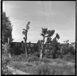 119-02 Leegstaande woningen die gesloopt zullen worden voor de bouw van het Kleinpolderplein.
