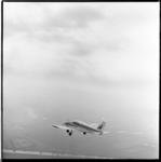 553-03 Piper-vliegtuig van Vliegclub Rotterdam is opgestegen van luchthaven Zestienhoven.