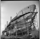 557-01 Bouw van de motorsleepboot De Witte Zee van Smit en Co's Internationale Sleepdienst op de werf van Smit en Co te ...