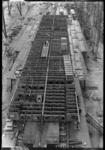 11052 Het passagiersschip de s.s. Nieuw Amsterdam (RDM-200) voor de Holland Amerika Lijn (HAL) in aanbouw bij de ...