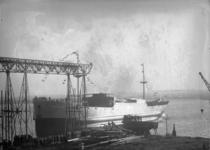 2007-2739 Tewaterlating van de MS Queenswood - op het terrein van de Rotterdamsche Droogdokmaatschappij (RDM) op Heijplaat.