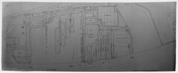 2007-2746-02 Overzichtstekening / situatie terrein RDM Heijplaat, Rotterdamsche Droogdok Maatschappij (RDM).