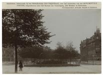 1969-1113 Zicht op de Mathenesserlaan vanaf de 's-Gravendijkwal naar het oosten gezien.