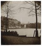 1971-323 De Schiedamsesingel van uit het zuidwesten gezien.