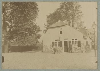 1973-185 Herberg In den Rustwat aan de Honingerdijk bij de Oude Plantage.