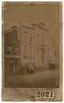 1973-4962 Ruïne van Museum Boymans aan de Korte Hoogstraat na de brand in de nacht van 15 op 16 februari 1864.