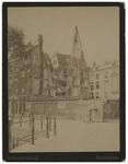 1977-2306 Ingestort huis aan de Wijnhaven, veroorzaakt door werkzaamheden voor de bouw van Witte Huis.
