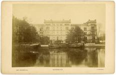 1991-1547 Het Coolsingelziekenhuis vóór de demping van de Coolvest.