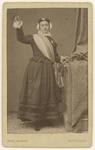RI-1684 Mejuffrouw Krämer als Hollandse Maagd ter gelegenheid van de onthulling der Banier van de Rotterdamsche ...