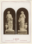 RI-1691-2 Beelden op de foto gezet voor het bezoek van Z.M. de koning ter gelegenheid van zijn regeringsjubileum. Op de ...