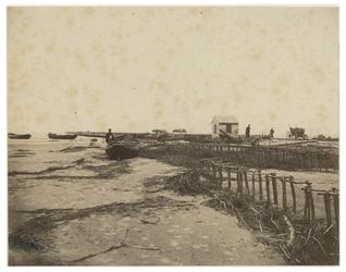 RI-93-3 Aanleg van de Noorderpier bij Hoek van Holland.