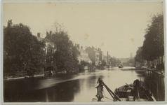 VIII-142 Gezicht op de Schiedamsesingel uit het noorden van de Binnenwegsebrug af.