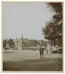 X-143 De Vierleeuwenbrug (Koningsbrug) over de Oudehaven met het Oud Zeekantoor bij de Boompjes en het Bolwerk.