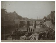 X-222-01 De Reederijbrug te Rotterdam, gebouwd in het jaar 1902 over de Scheepmakershaven.