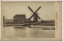 XVI-58 De Oost-Blommerdijkse Watermolen aan de Rotte.