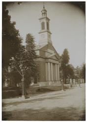 XVIII-166-a De Nederlands Hervormde Kerk te Kralingen aan de Hoflaan, ook wel Hoflaankerk genoemd.