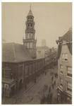 XVIII-260 De Waalse Kerk aan het westelijk einde van de Hoogstraat.