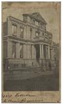 XXI-25-1 Het Schielandshuis/ Museum Boymans aan de Korte Hoogstraat, kort na de brand.