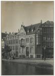 XXV-595-01-01 Zicht op huisnummers 208 en 210 van de Schiekade aan de Rotterdamse Schie. Aan de rechterkant het ...