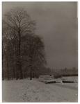 XXXI-939-00-02-02-a Zicht op in sneeuw gehuld landschap bij de Honingerdijk in Kralingen.