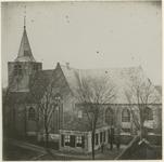 XXXI-45-1 Oude Kerk der Nederlands Hervormde Gemeente te Charlois aan de Charloisse Kerksingel.