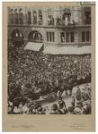 XXXIII-209-1 Bezoek van de president van de Zuid-Afrikaansche Republiek, Paul Kruger aan Rotterdam. De koets waar hij ...