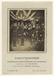 XXXIII-81 Schietwedstrijd van de Koninklijke scherpschutters te Rotterdam. Bezoek van de koning en diens broer.