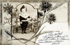 2000-1101-224 Serie van 237 fotokaarten, grotendeels vervaardigd door Louise Laboyrie, huishoudster (pastoorsmeid) bij ...