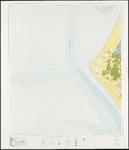 1968-1374 Topografische kaart van Rotterdam en omstreken   bestaande uit 31 bladen. Blad 8b: Voornse Kust.
