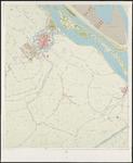 1968-1375 Kaart van Rotterdam en omgeving in 31 bladen. Blad 9: Brielle, Zwartewaal, Vierpolders.