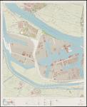 1968-1376 Topografische kaart van Rotterdam e.o.   bestaande uit 31 bladen. Blad 10: Botlek.