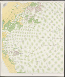 1968-1427 Kaart van Rotterdam en omgeving in 31 bladen. Blad 8: Oostvoorne en Rockanje.