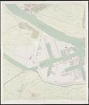 1968-1429 Kaart van Rotterdam en omgeving in 31 bladen. Blad 10: Botlek, Rozenburg, Maassluis, Blankenburg, ...