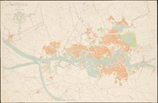 1969-1795 Plattegrond van Rotterdam en omgeving.