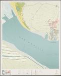 1969-784 Topografische kaart van Rotterdam en omstreken   bestaande uit 32 bladen. Blad 8a: Hellevoetsluis.
