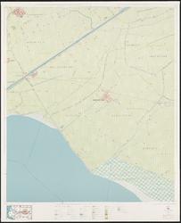 1969-786 Topografische kaart van Rotterdam en omstreken   bestaande uit 32 bladen. Blad 9a: Oudenhoorn.