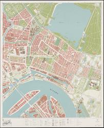 1970-2044 Kaart van Rotterdam en omgeving; bestaande uit 24 bladen. Blad 11: Feijenoord, Crooswijk en Kralingen.