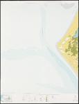 1971-850 Topografische kaart van Rotterdam en omstreken   bestaande uit 31 bladen. Blad 8b: Voornse Kust.