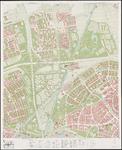 1974-966 Kaart van Rotterdam en omgeving; bestaande uit 24 bladen. Blad 8: Vlaardingen Oost en Schiedam.