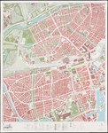 1974-968 Kaart van Rotterdam en omgeving; bestaande uit 24 bladen. Blad 10: Blijdorp, Bergpolder, Oude Noorden, Nieuwe ...